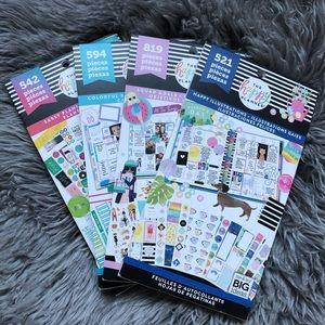 Happy Planner Sticker Book Bundle